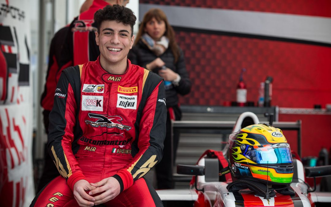 Festante first italian to enter the F4 French Championship