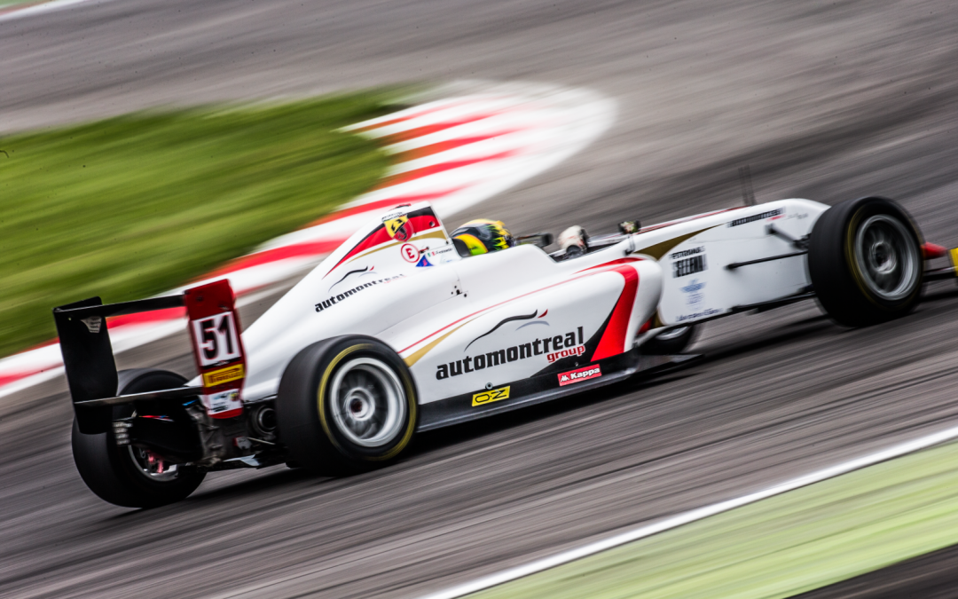 Aldo Festante close to the podium at Adria: 4° position in Race 2