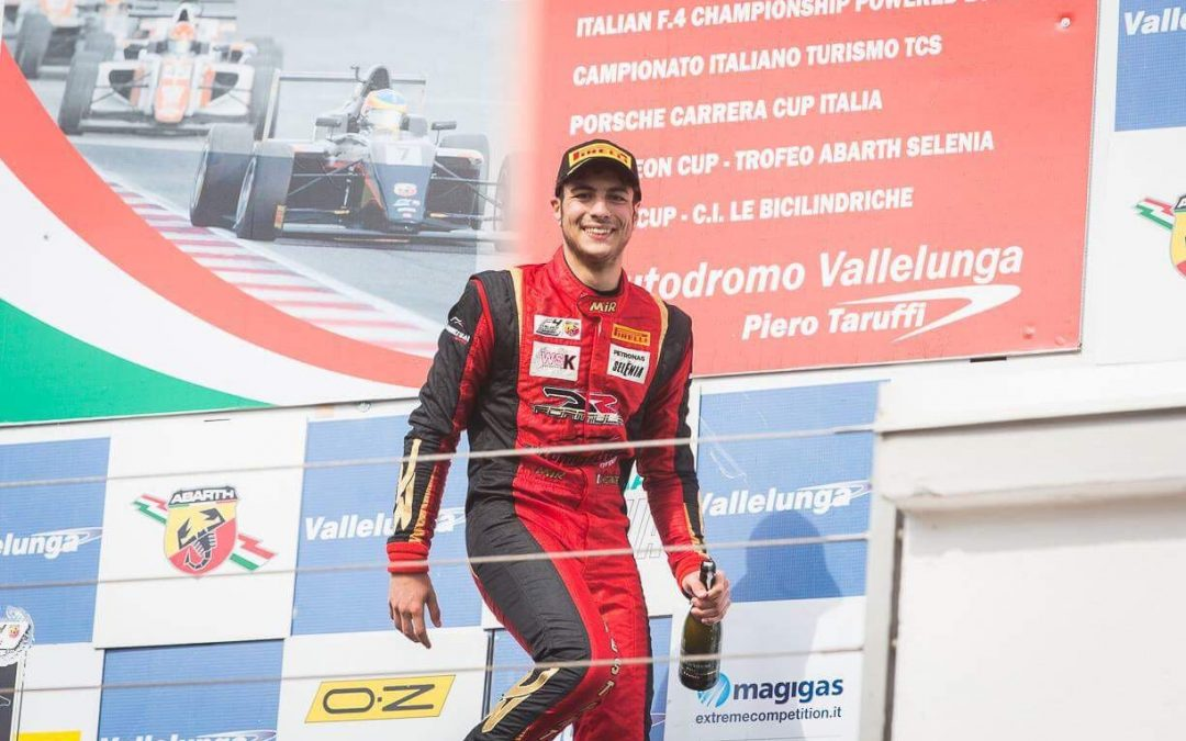 First podium finish for Festante at Vallelunga