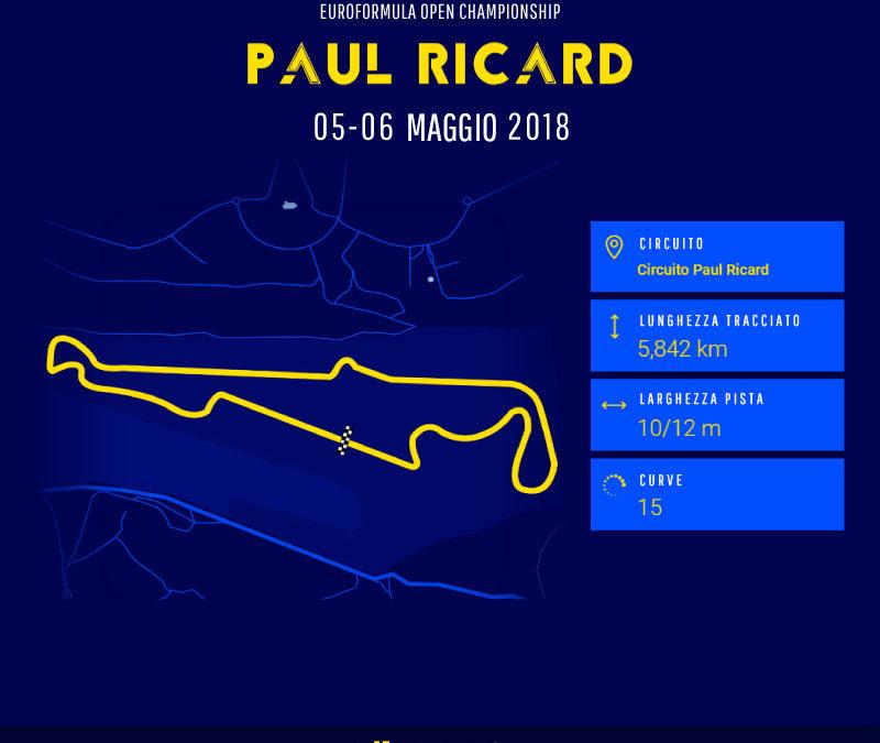 Festante al Paul Ricard per il secondo round dell'Euroformula Open Championship