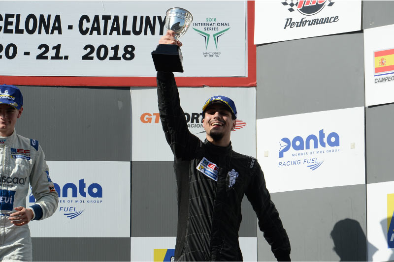 Championship with rookie podium for Festante