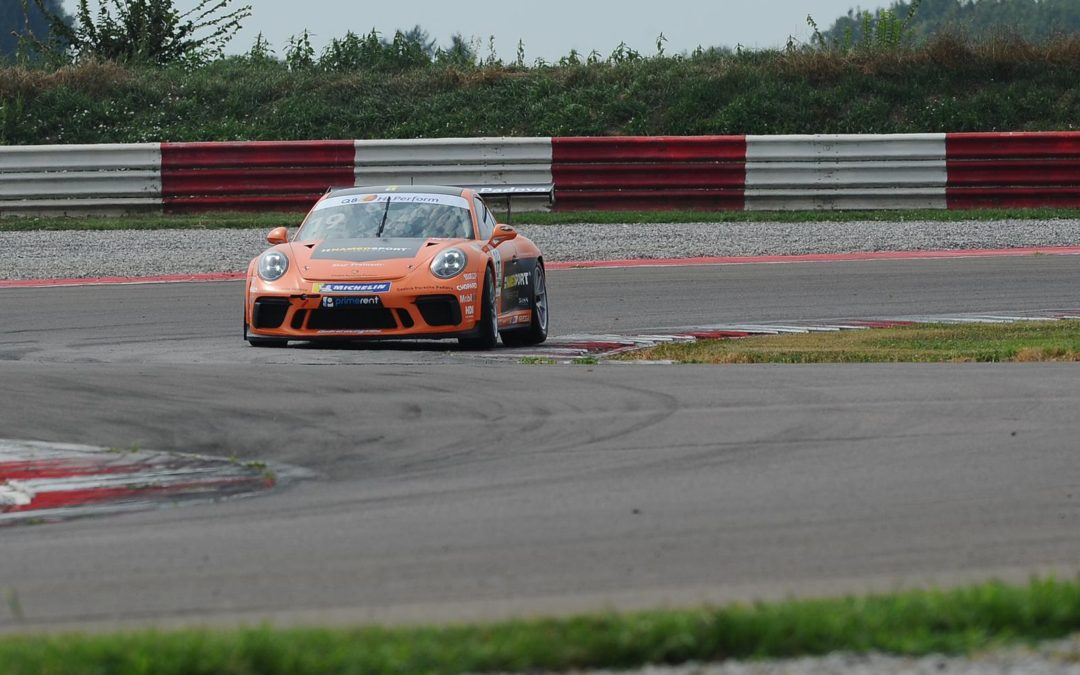 ALDO FESTANTE READY TO DEBUT IN THE PORSCHE CARRERA CUP