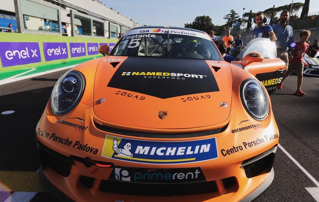 GOOD DEBUT FOR FESTANTE IN THE PORSCHE CARRERA CUP