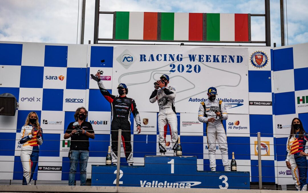 AT VALLELUNGA FESTANTE CLIMBS THE PODIUM AGAIN