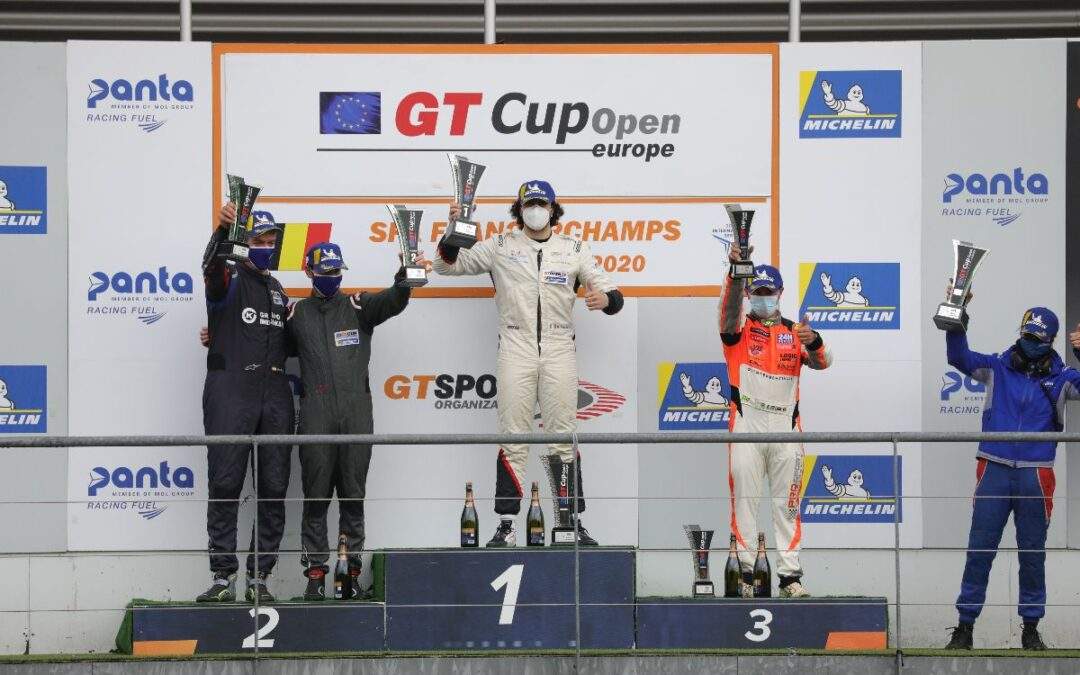 POLE POSITION AND DOUBLE VICTORY FOR FESTANTE