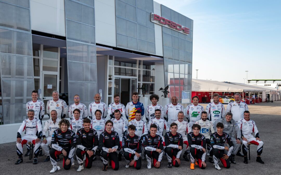 THE ENGINES ARE FIRED UP AT MISANO FOR THE NEW EDITION OF THE PORSCHE CARRERA CUP