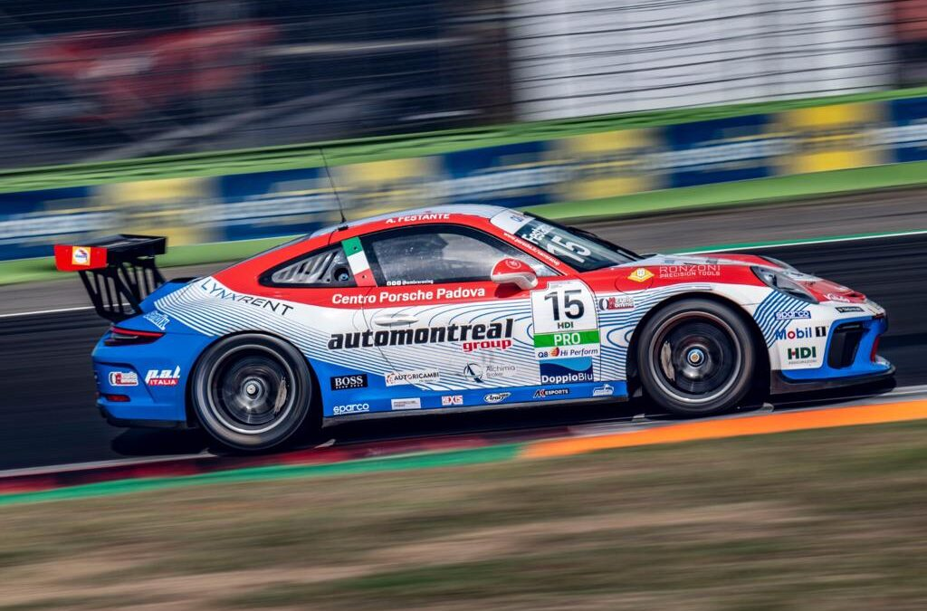 AT VALLELUNGA, FESTANTE TOUCHES THE SECOND PLACE AND MARKS THE FASTEST LAP OF THE RACE